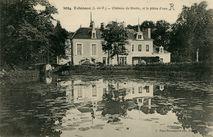Château de Bintin, et la pièce d'eau  