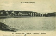 Environs de Brest - Kerhuon - Vue générale - Le Viaduc |