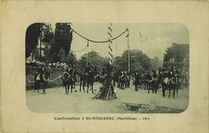 Confirmation à St-MERIADEC (Morbihan) - 1911 |