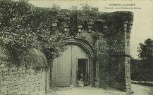 Porte du vieux Château de Rohan |