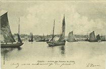 Arrivée des bateaux de pêche   Dachicourt