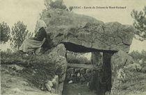 Entrée du Dolmen de Mané-Kerioned |