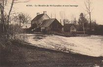 Le Moulin de St-Caradec et son barrage |