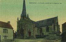 La Chapelle, construite par les Anglais en 1492 |