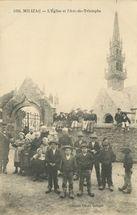 L'Eglise et l'Arc-de-Triomphe |