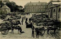 La Mairie et la Place du Marché aux Légumes. | Nd