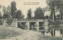 Environs de CHATEAUGIRON Le Pont de l'Eperon sur la Seiche |