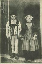 Enfants sortant de la Messe  
