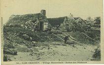 Iles Chausey - Village Blainvillais - Huttes des pêcheurs |