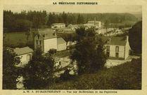Vue sur St-Rivalain et les Papeteries  