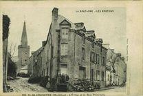 L'Eglise et la Rue Principale | Bocquenet