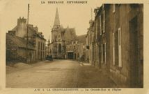 La Grande-Rue et l'Eglise |
