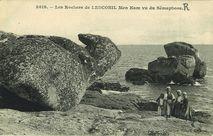 Les Rochers de Lesconil Men Kam vu du Sémaphore |