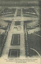 Panorama des Nouveaux Jardins du Champ de Mars, pris de la 2e plate-forme de la Tour Eiffel  