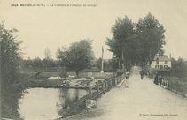 Calvaire et l'Avenue de la Gare |