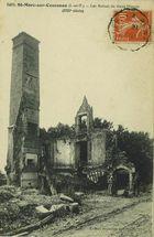 Les ruines du vieux Manoir (XIIIe siècle) |