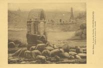 Saint Guirec, le jour du Pardon (PLOUMANAC'H) d'après le tableau d'E. Bouillé | Bouille Etienne