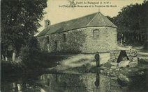Forêt de Paimpont. La chapelle de Beauvais et la fontaine Saint-Roch |