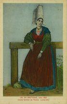 Vers 1830. Jeune femme de Pornic |