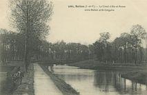 Le Canal d'Ille-et-Rance entre Betton et St-Grégoire |