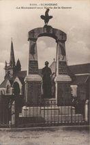 Le Monument aux Morts de la Guerre | Landre