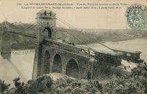 Vue du Pont en amont et de la Ville |