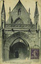 Le Grand Chapître - La façade. Un des plus beaux monuments de Bretagne | Thiriat A.