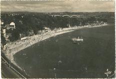 La plage St-Marc et le Pont de Plougastel |