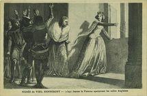 (1342) Jeanne la Flamme apercevant les voiles Anglaises |