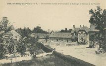 Les nouvelles Ecoles et le Carrefour de Bazouges la-Pérouse et de Marcillé |
