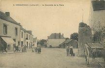 La Descente de la Place   Chapeau F.