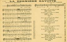 LA DERNIERE GAVOTTE | Vargues F.