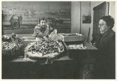 Halles, marchand de poisson | Kervinio Yvon