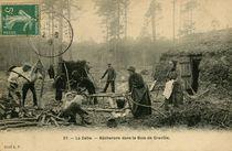 Bûcherons dans le Bois de Granville | C.p.