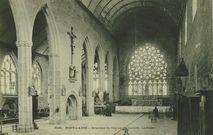 Intérieur de l'Eglise des Carmes - La Rosace |