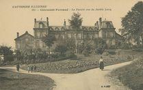 La Faculté vue du Jardin Lecoq |