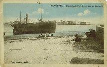 Citadelle de Port-Louis vue de Kernevel | Combier