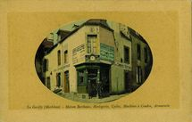 Maison Berthaux, Horlogerie, Cycles, Machines à Coudre, Armurerie  