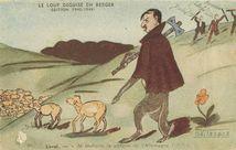 LE LOUP DEGUISE EN BERGE (EDITION 1940-1944) | Vilaseca O.