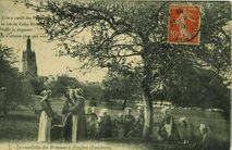 La cueillette des Pommes à Pleyben |