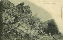 Gorges de Poulancre (Côté Sud) près St-Mayeux |