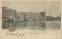 Le Château vu de la Pointe |