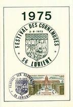 Festival des Cornemuses - 56 Lorient. 1975 |