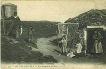 Au Cap Gris-de-nez. Une famille de pêcheurs |