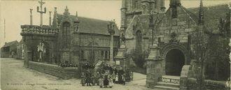 L'Arc-de Triomphe - L'Eglise et le Calvaire |