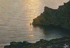 Coucher de soleil sur le Cap d'Erquy  