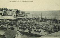Belle-Ile-en-Mer. Port de Palais et citadelle |