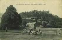 Camp Romain du Mûr, vu de l'Aff |
