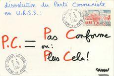 dissolution du Parti Communiste en U.R.S.S.:   Savon