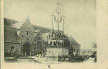 Eglise et Calvaire de Plougouven |